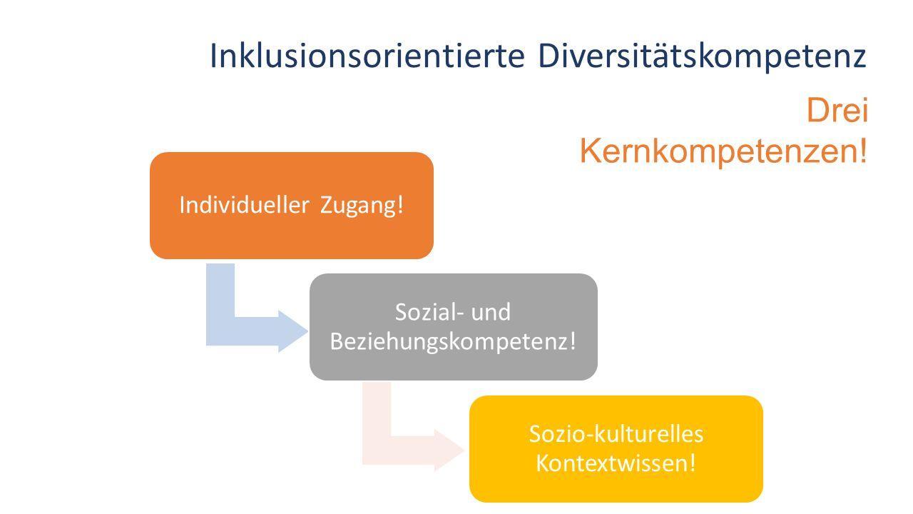 Inklusionsorientierte Diversitätskompetenz Drei Kernkompetenzen!