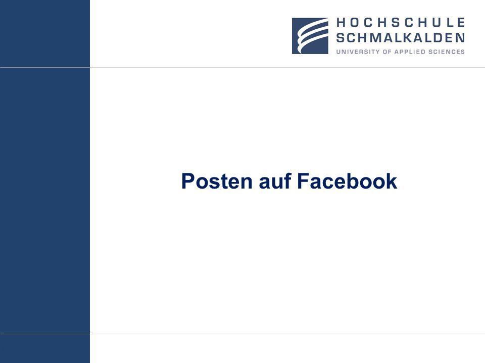 Posten auf Facebook
