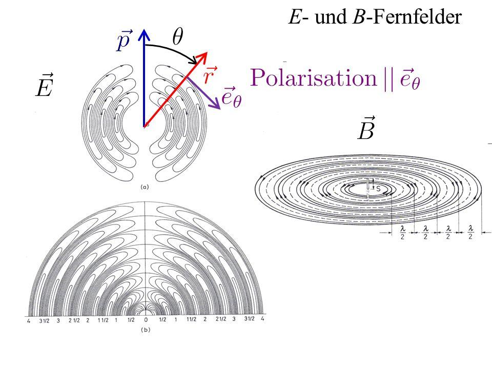 E- und B-Fernfelder