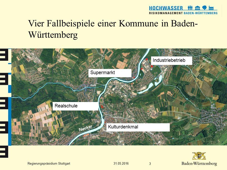 Regierungspräsidium Stuttgart Das Gewässernetz der Hochwassergefahrenkarten in Baden-Württemberg 31.05.2016 14 Vorhandene HWGK-Daten (dunkelblau) HWGK-Daten in Bearbeitung (hellblau)
