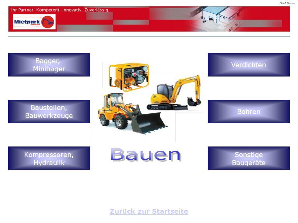 Zurück zur Startseite Start Bauen Bagger, Minibager Baustellen, Bauwerkzeuge Kompressoren, Hydraulik Verdichten Bohren Sonstige Baugeräte