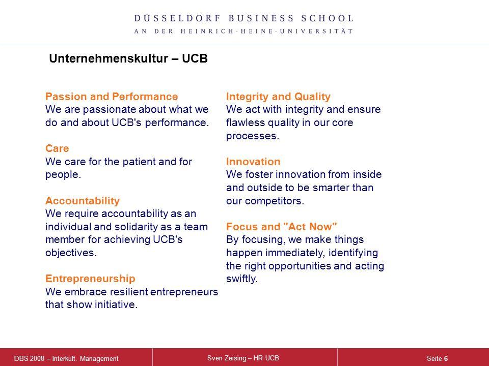 DBS 2008 – Interkult.Management Sven Zeising – HR UCB Seite 7  Ca.