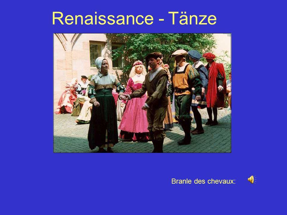Renaissance - Tänze Branle des chevaux: