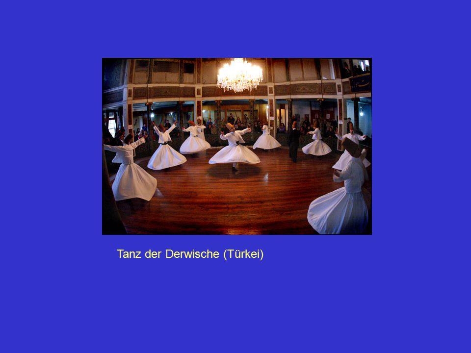 Tanz eines Schamanen (Heilers)