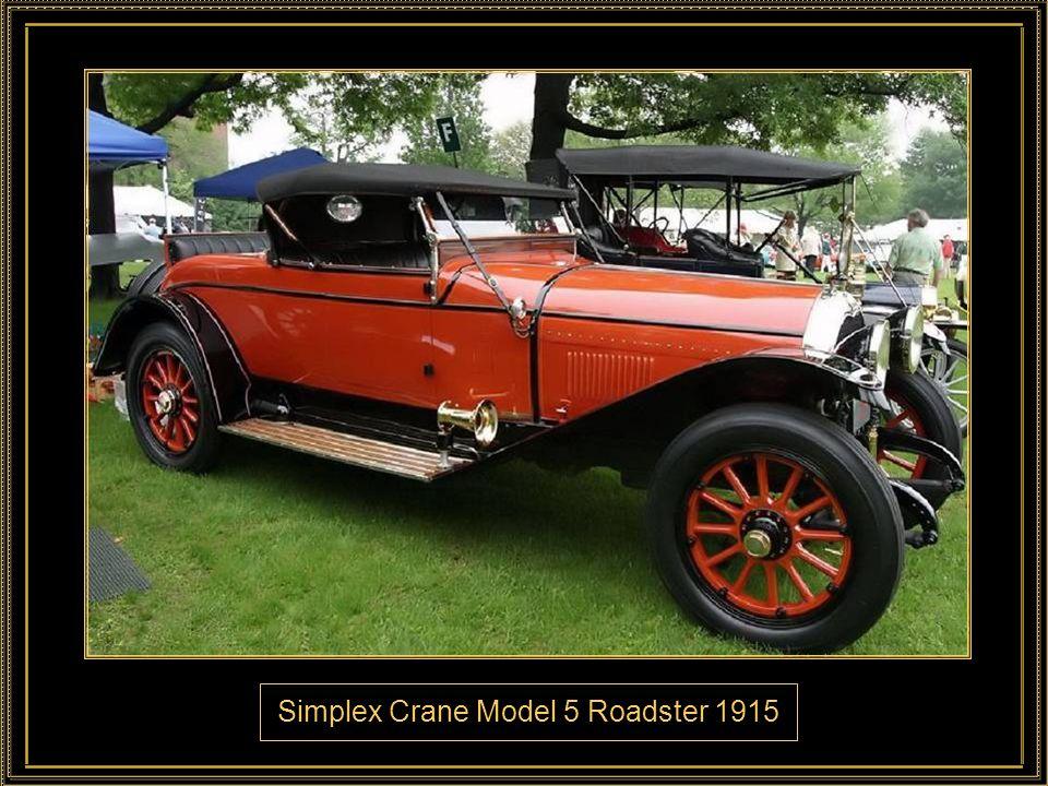 Locomobile Berline Town Car 1914