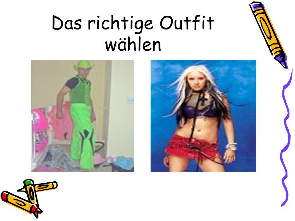 Das richtige Outfit wählen
