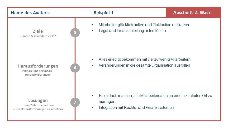 Abschnitt 2: Was.