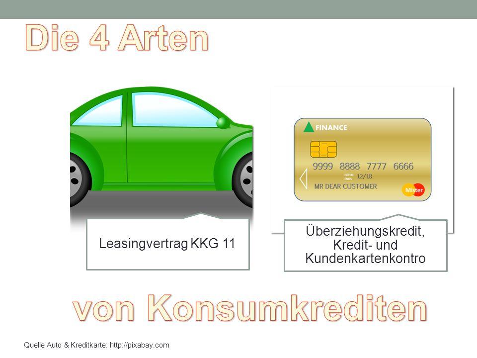 Leasingvertrag KKG 11 Überziehungskredit, Kredit- und Kundenkartenkontro Quelle Auto & Kreditkarte: http://pixabay.com