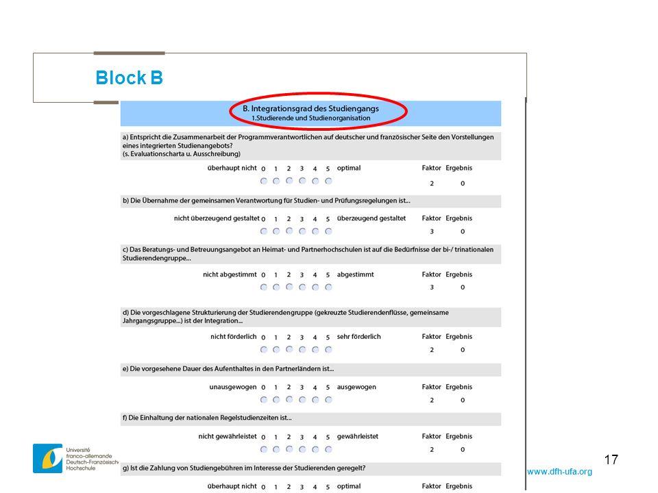 www.dfh-ufa.org 17 Block B
