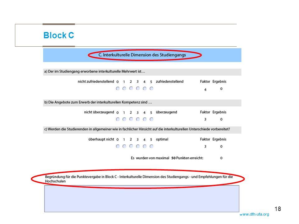 www.dfh-ufa.org 18 Block C