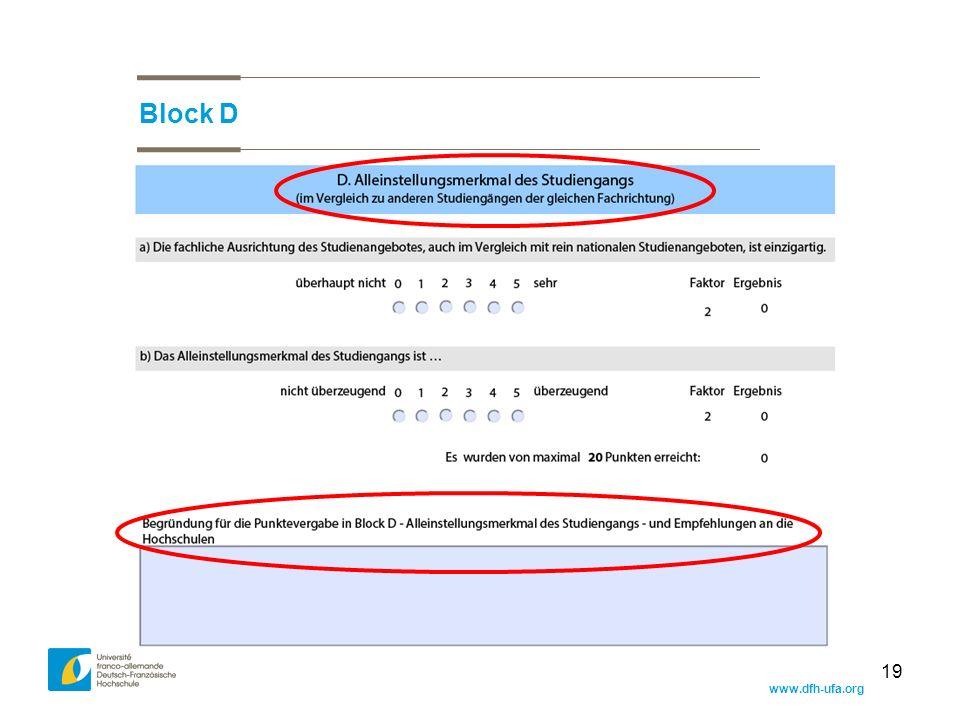 www.dfh-ufa.org 19 Block D