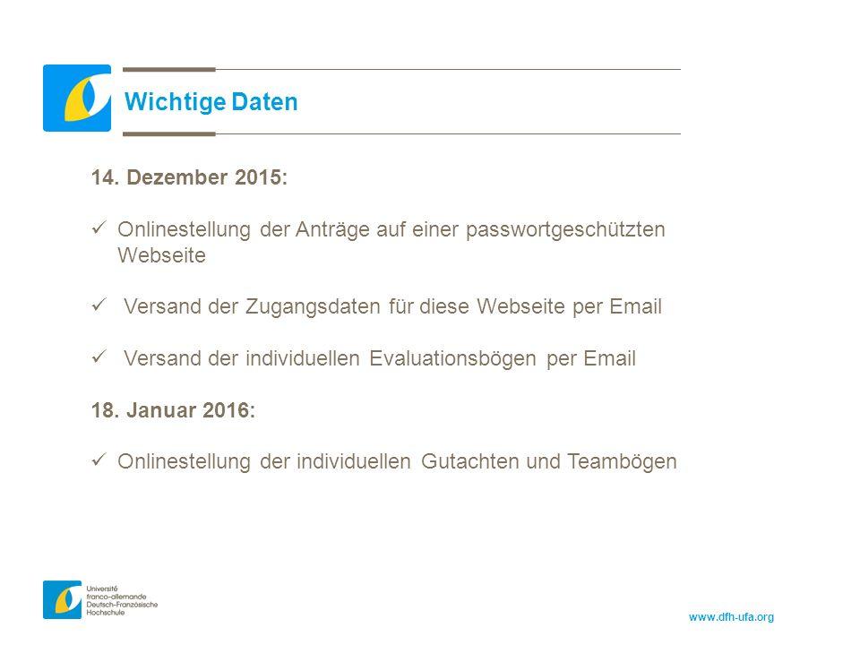 www.dfh-ufa.org Wichtige Daten 14.