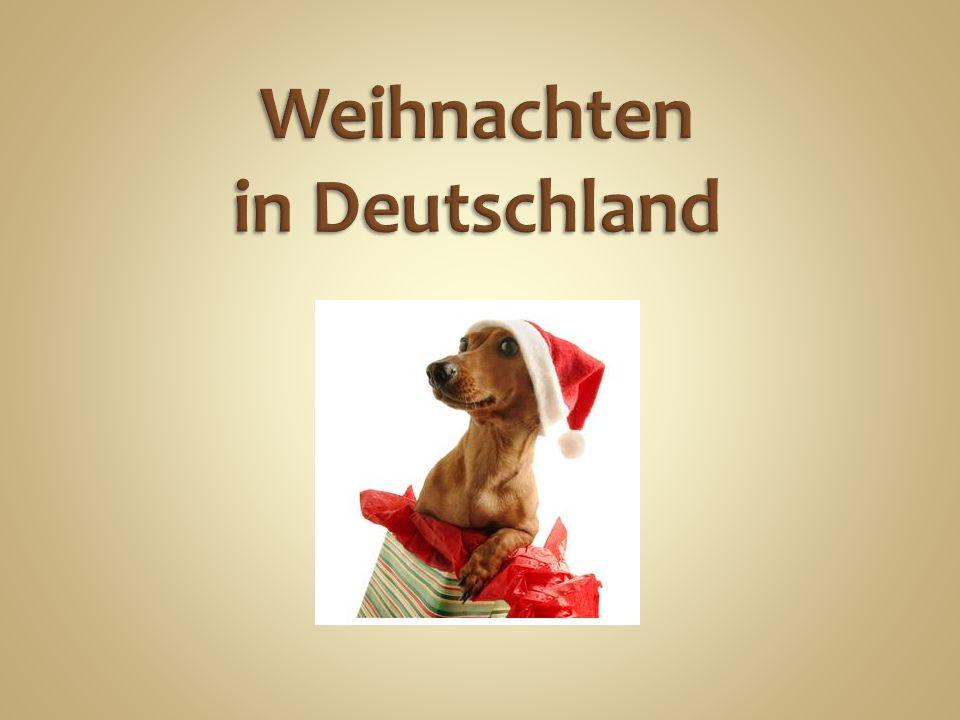 Der Advent ist die Vorbereitungszeit auf Weihnachten.