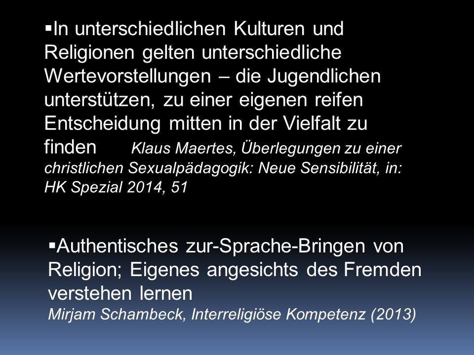 LPA: konfessioneller RU PA: RP als eine von fünf Humanwissenschaften PH: Fächer nicht mehr vorgegeben Religion immer weniger gefragt andererseits: religiöse Vielfalt drastisch zunehmend  interreligiöse KOMPETENZ ( 1-2 SWSt ) 2.