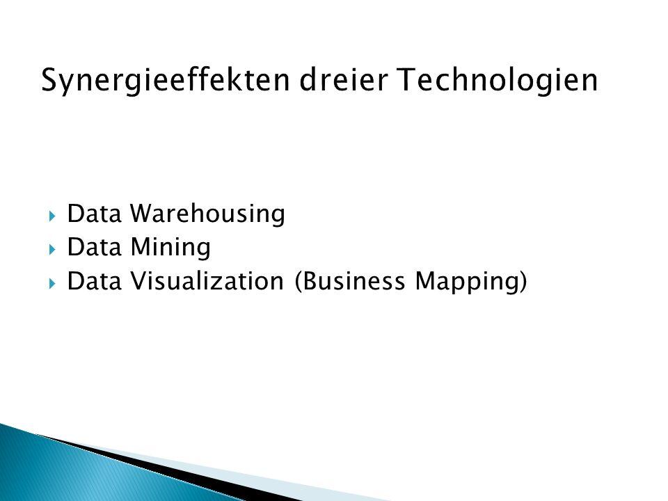  Data Warehousing  Data Mining  Data Visualization (Business Mapping)