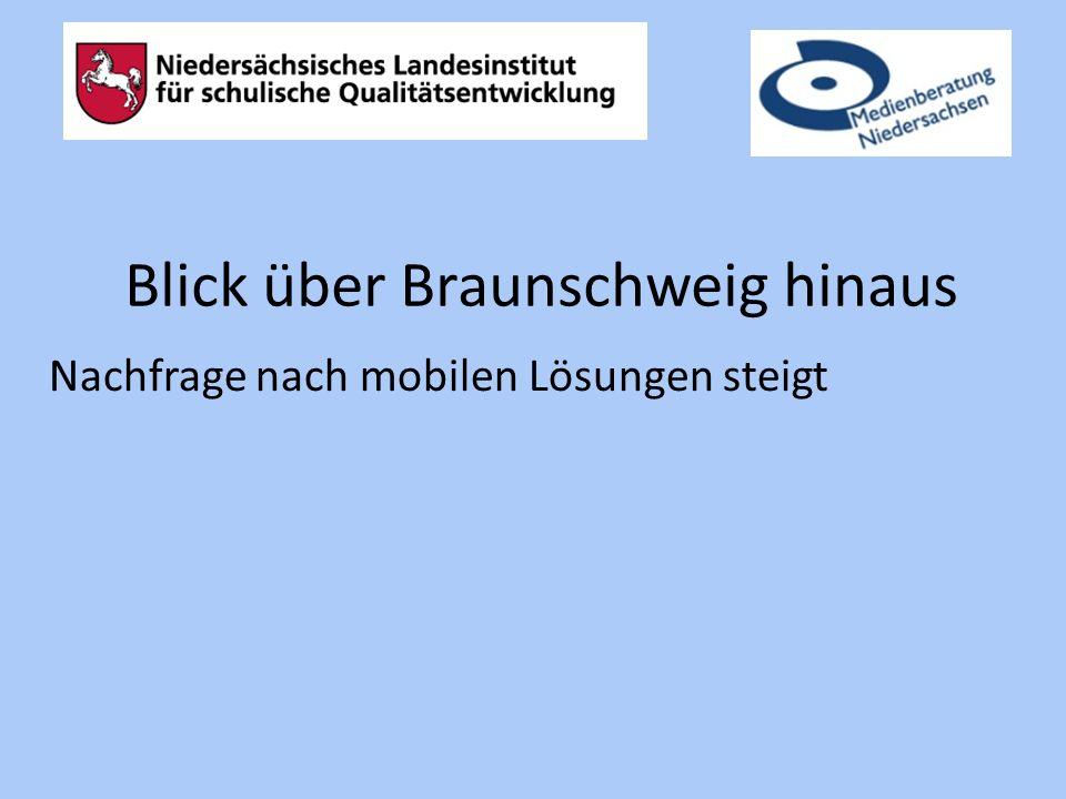 Blick über Braunschweig hinaus Nachfrage nach mobilen Lösungen steigt