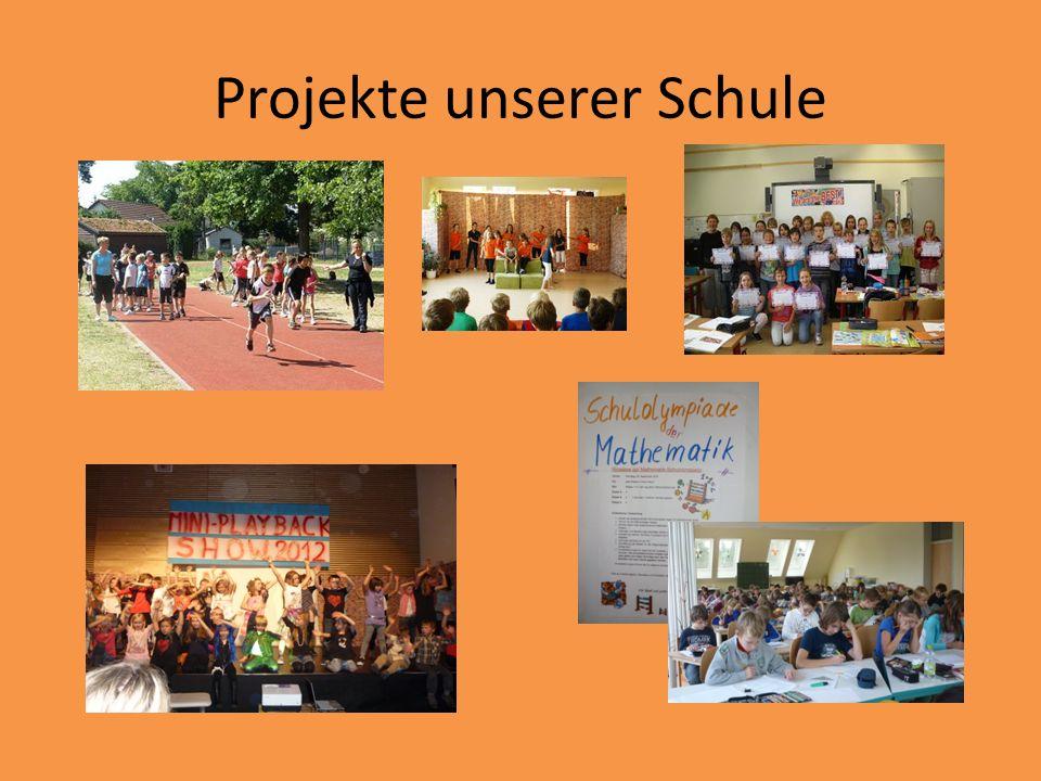 Projekte unserer Schule