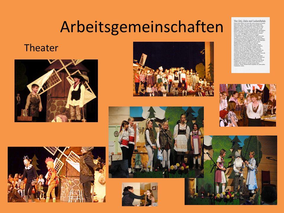 Arbeitsgemeinschaften Theater