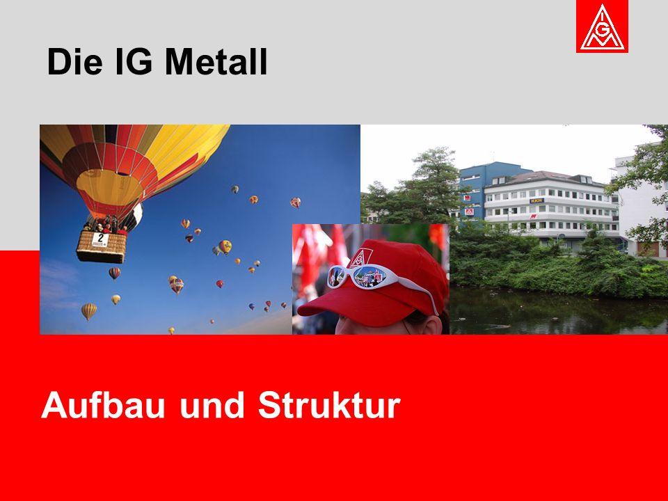 Die IG Metall Aufbau und Struktur