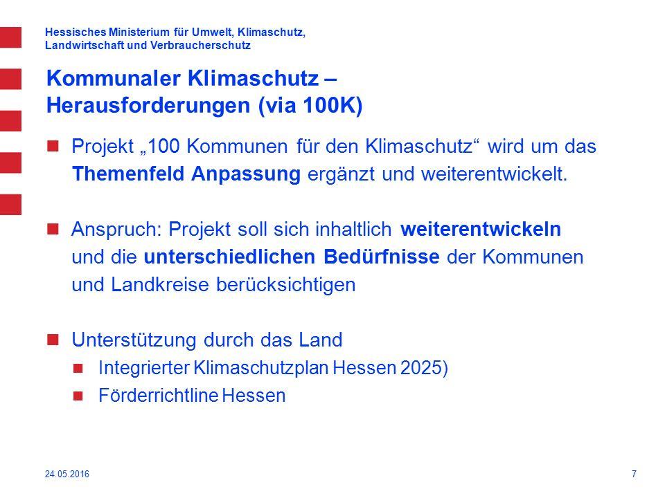8 Weiterentwicklung des Projektes 100 23.