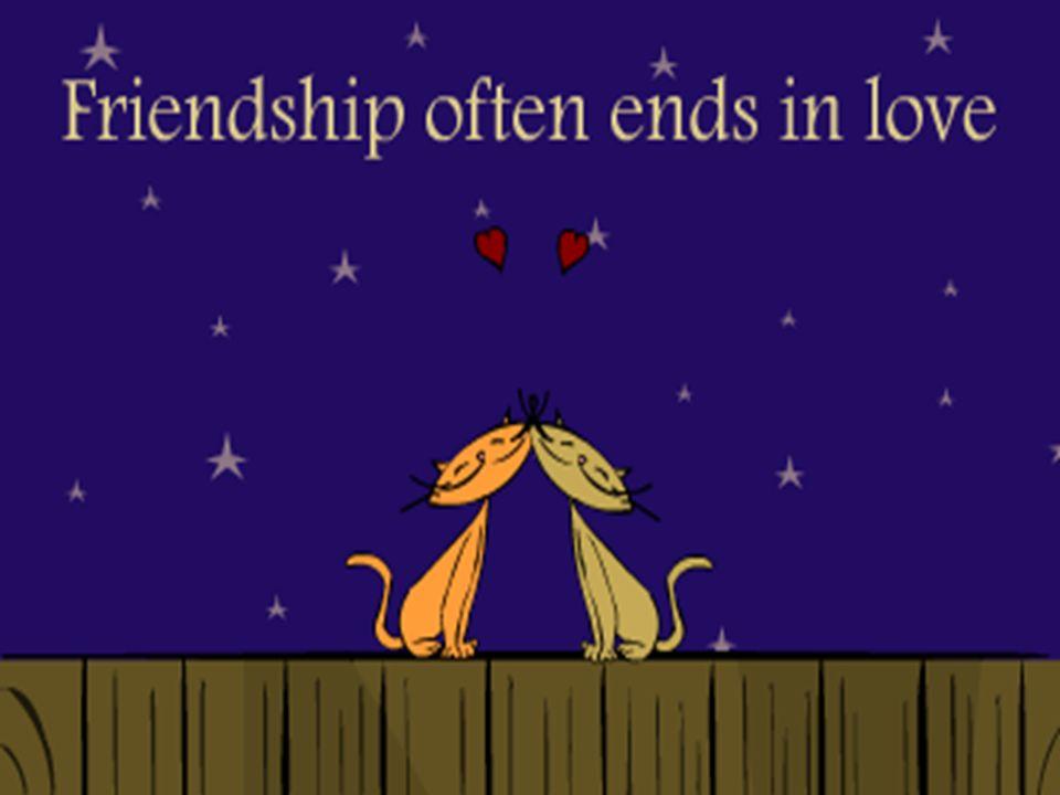 Kann es nicht sein das man ab und zu eine gute Freundschaft mit liebe verwechselt