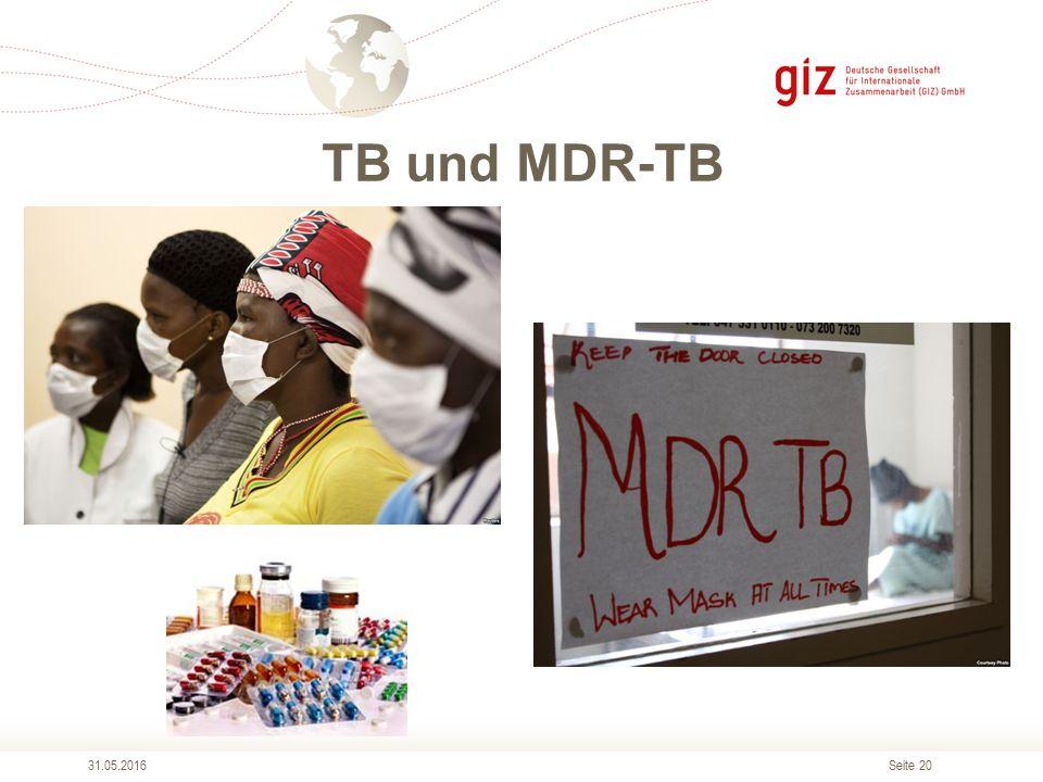 Seite 20 TB und MDR-TB 31.05.2016