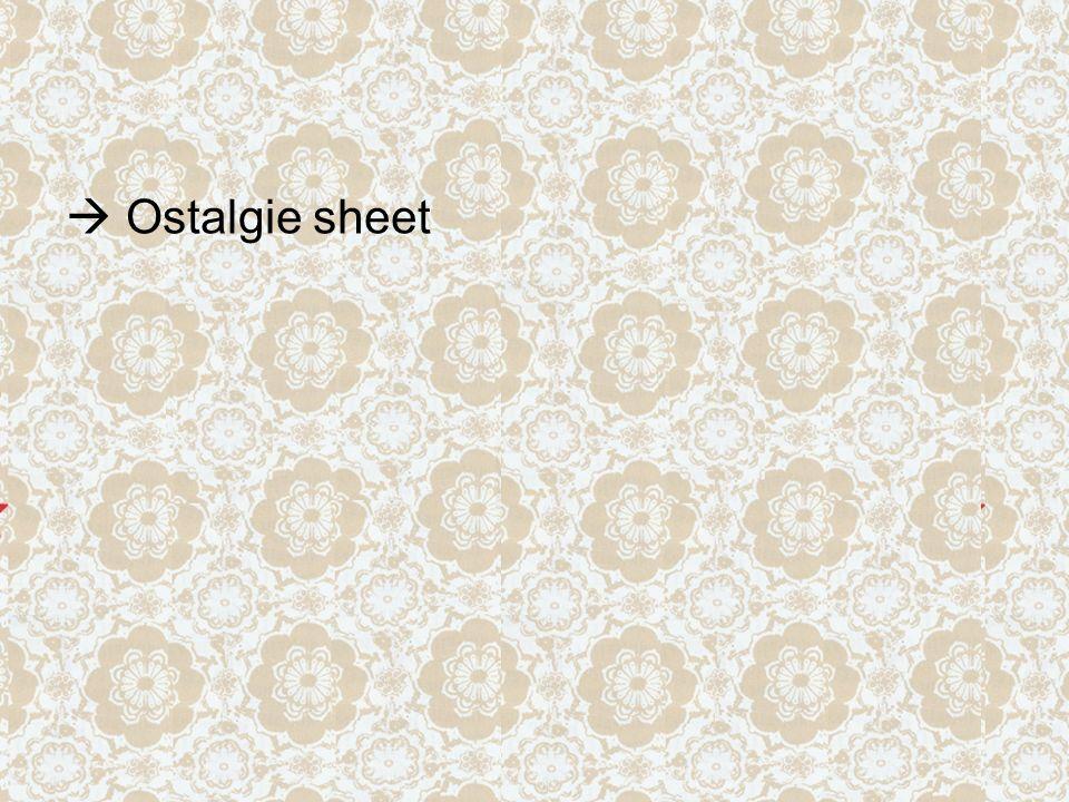  Ostalgie sheet
