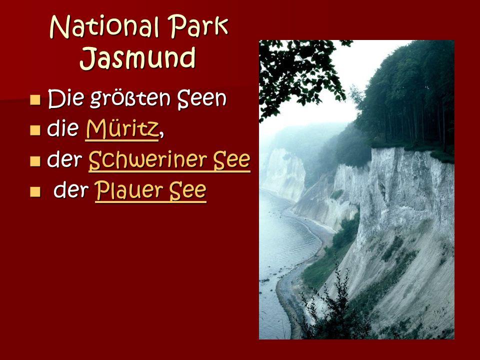 National Park Jasmund Die größten Seen Die größten Seen die Müritz, die Müritz,Müritz der Schweriner See der Schweriner SeeSchweriner SeeSchweriner See der Plauer See der Plauer SeePlauer SeePlauer See