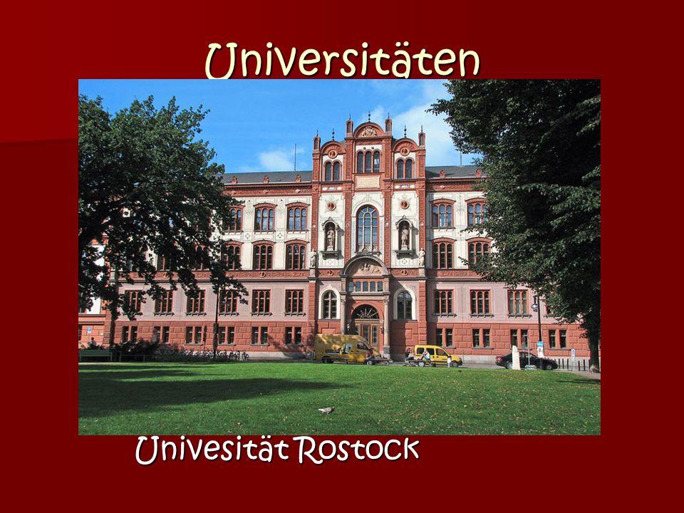 Universitäten Univesität Rostock