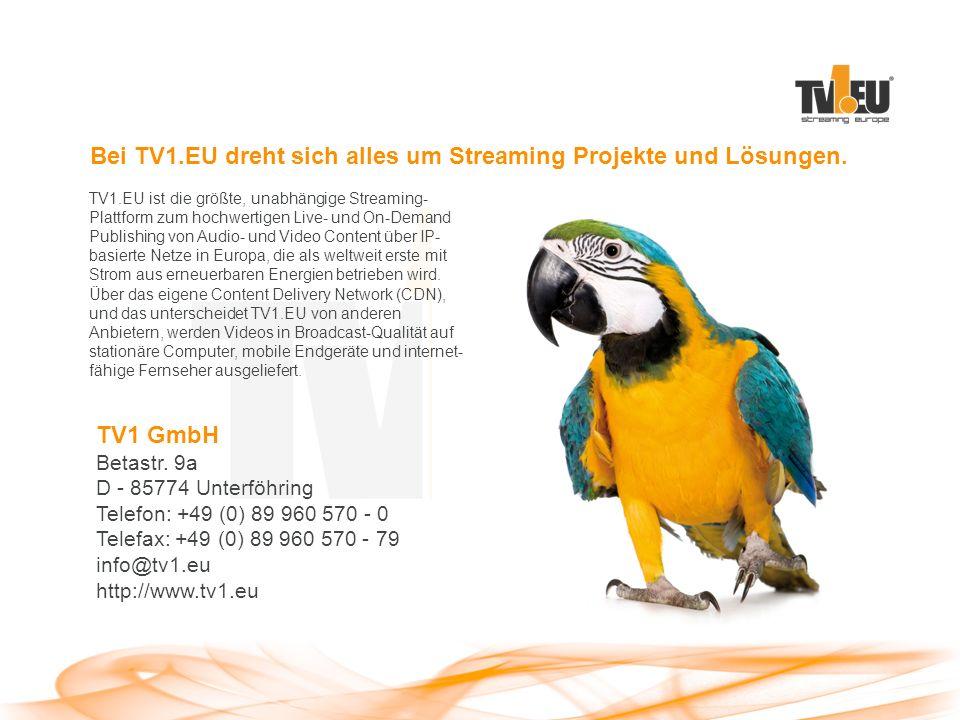 TV1 GmbH Betastr.
