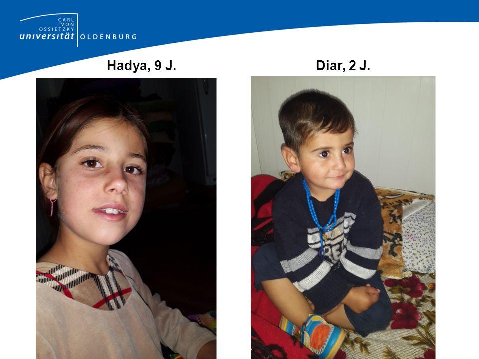 Hadya, 9 J. Diar, 2 J.
