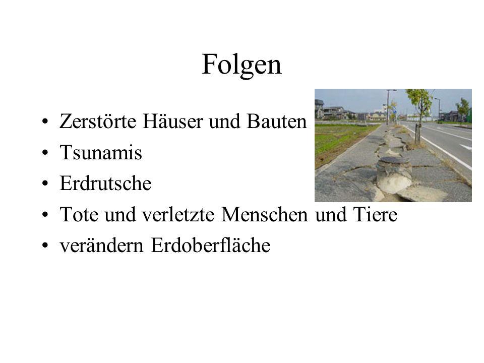 Erdbeben in Deutschland Ca. 10.000 pro Jahr 1992
