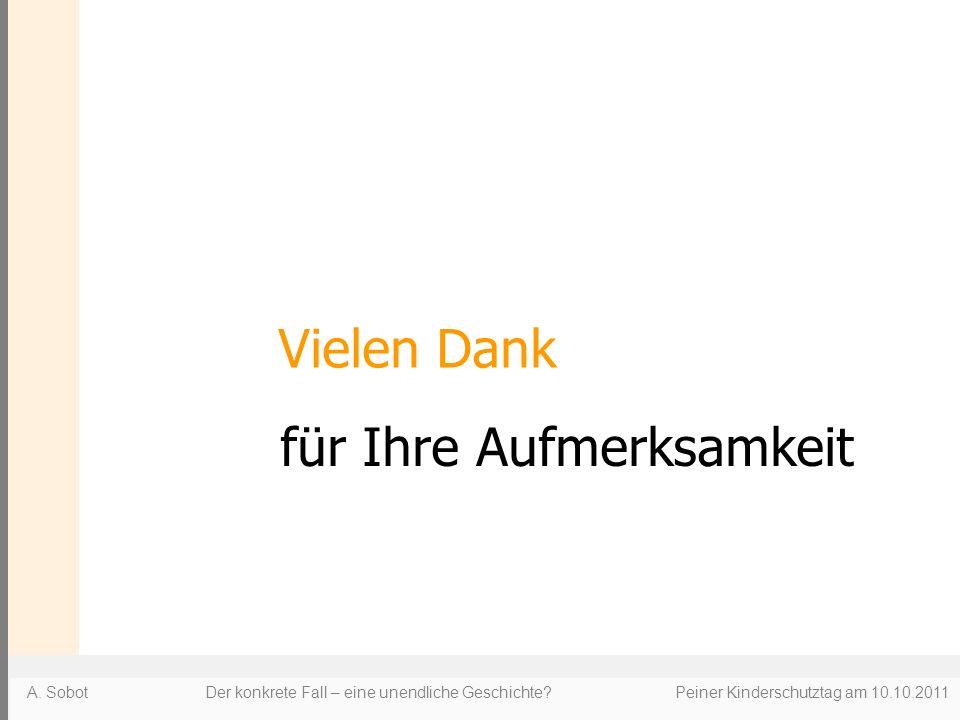 A. Sobot Der konkrete Fall – eine unendliche Geschichte.