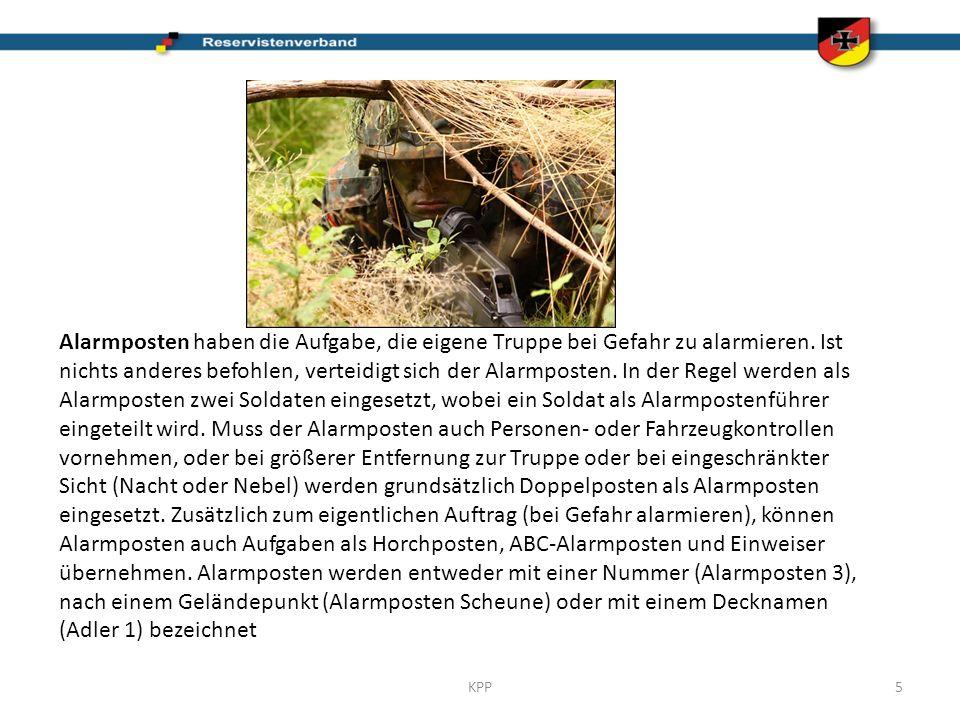 Der Alarmposten wird nach: Langemaark durchgeführt.