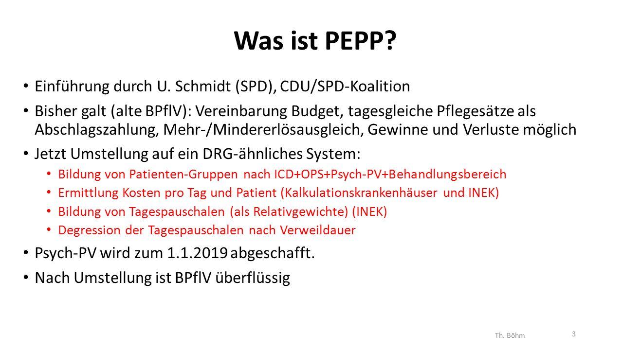 Was ist PEPP. Einführung durch U.