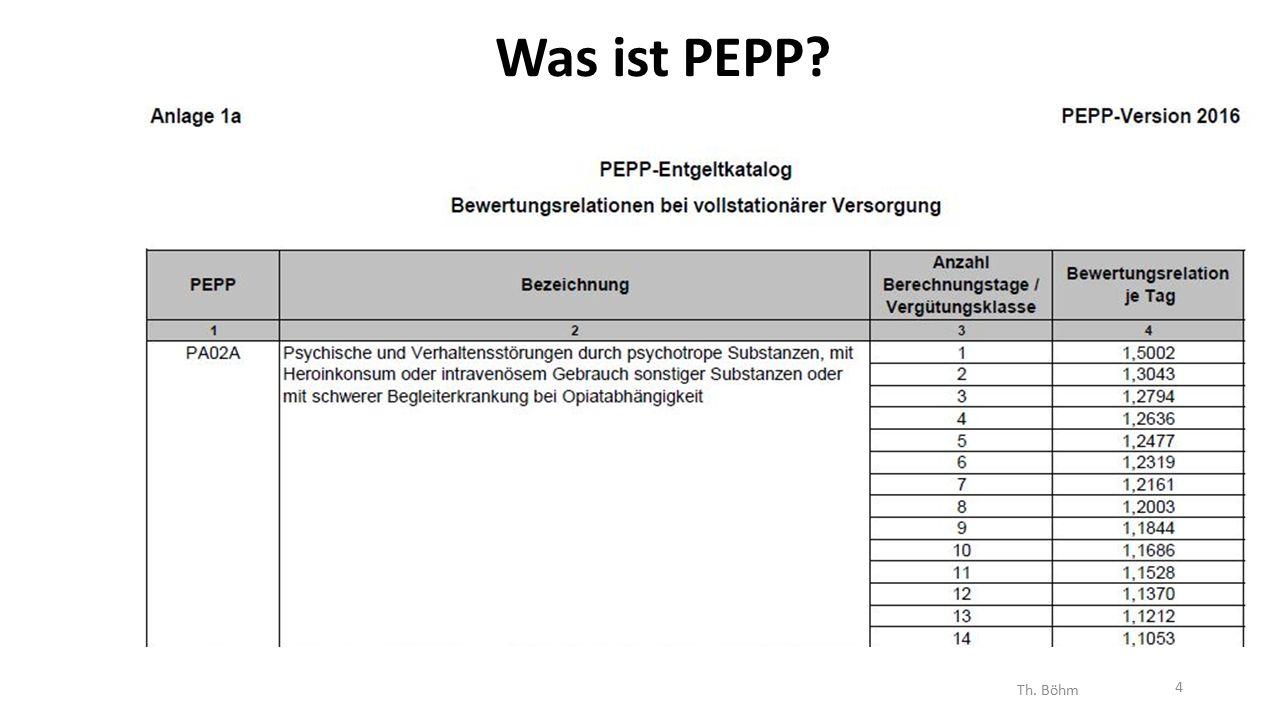 Was ist PEPP Th. Böhm 4