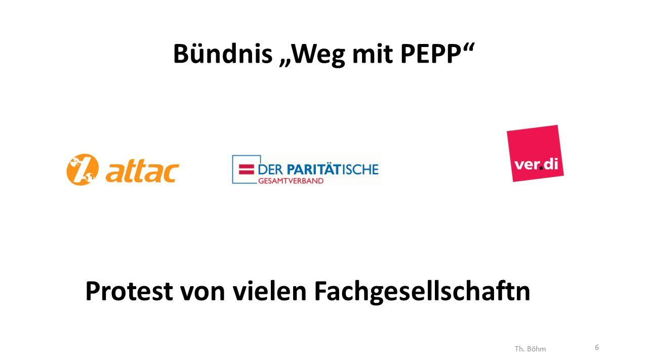 """Bündnis """"Weg mit PEPP Protest von vielen Fachgesellschaftn Th. Böhm 6"""