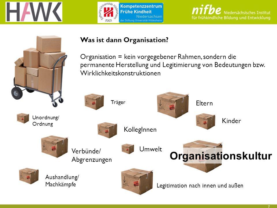 7 Was ist dann Organisation.