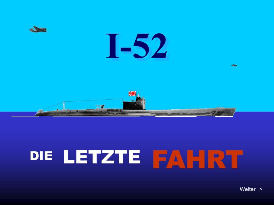 """Dies ist die kurze aber dramatische Geschichte des japanischen Ubootes I-52 (Tarnname """"Föhre ) : 5240 Meter tief mitten im Atlantik liegt das erstaunlich intakte Wrack des U-Kreuzers, der im Juni 1944 von amerikanischen Bombern versenkt wurde, als er zu einem geheimen Treffen mit dem deutschen U-Boot U-530 (Lange) aufgetaucht war."""