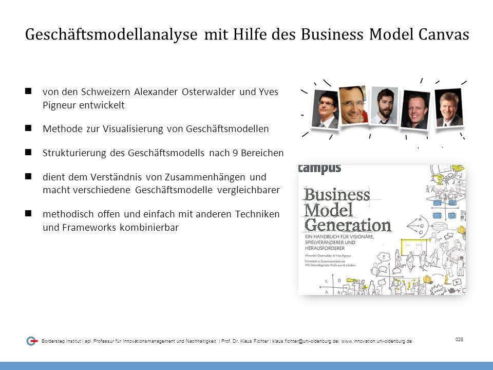 028 Borderstep Institut | apl. Professur für Innovationsmanagement und Nachhaltigkeit | Prof.
