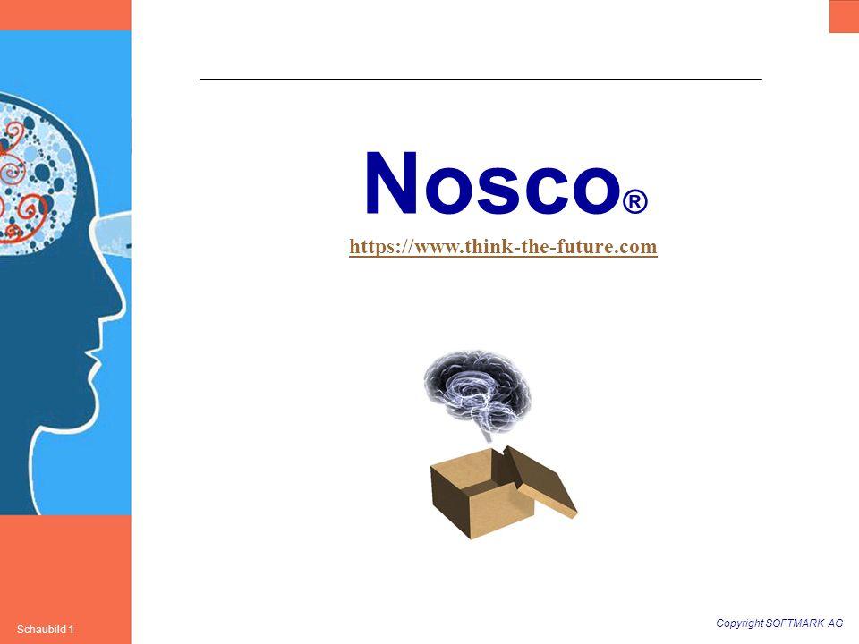 Copyright SOFTMARK AG Schaubild 1 Nosco ® https://www.think-the-future.com