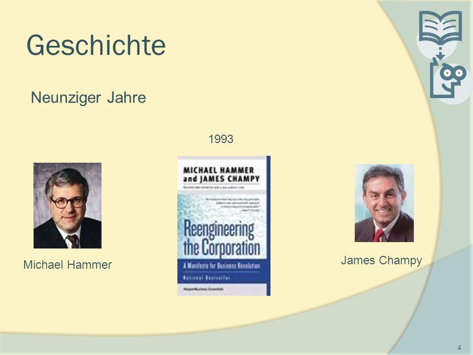 Geschichte Neunziger Jahre Michael Hammer James Champy 1993 4