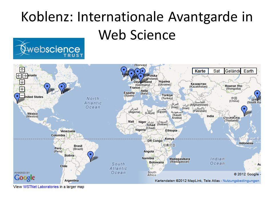 Koblenz: Internationale Avantgarde in Web Science
