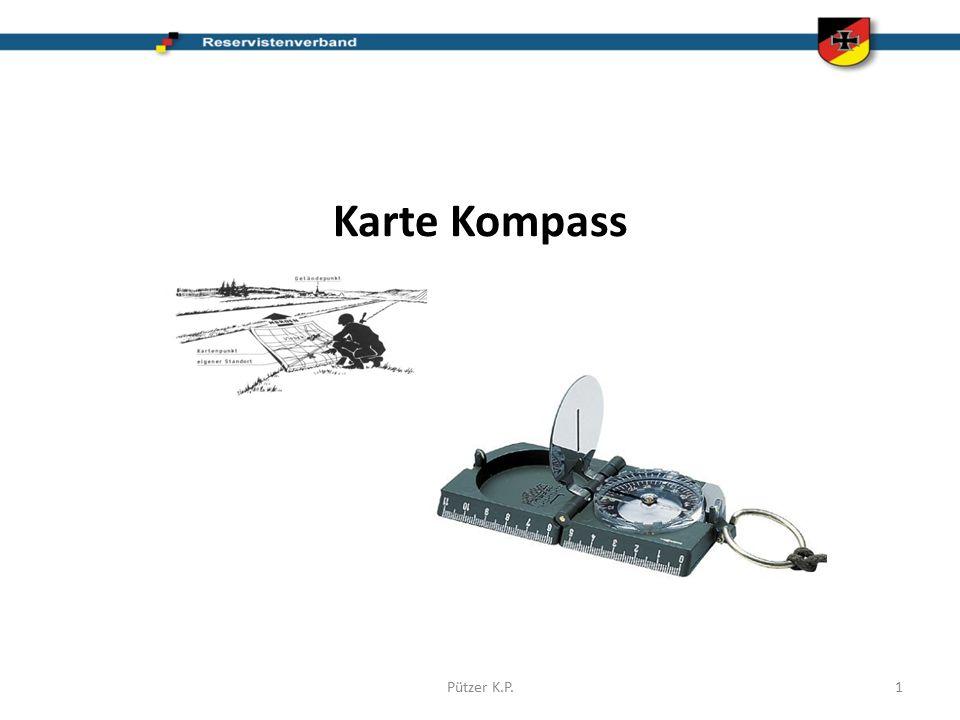 Karte Kompass Pützer K.P.1