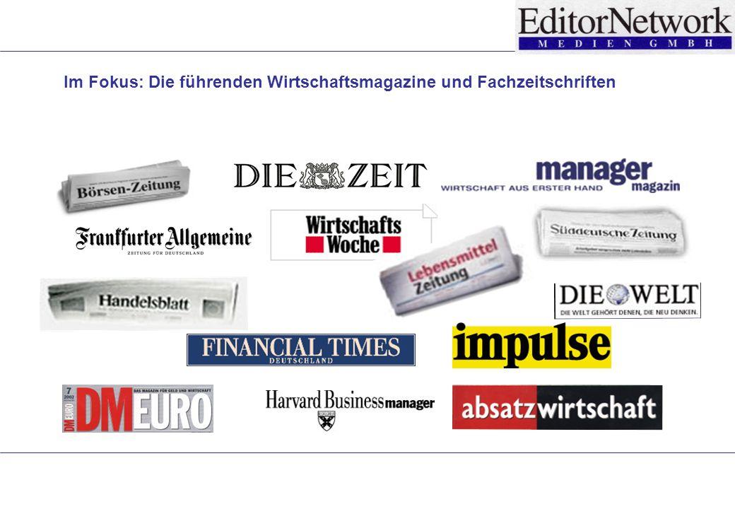 Im Fokus: Die führenden Wirtschaftsmagazine und Fachzeitschriften