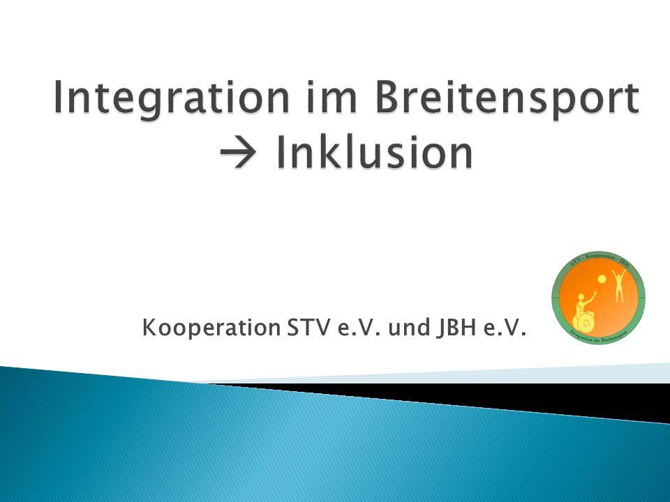 Kooperation STV e.V. und JBH e.V.