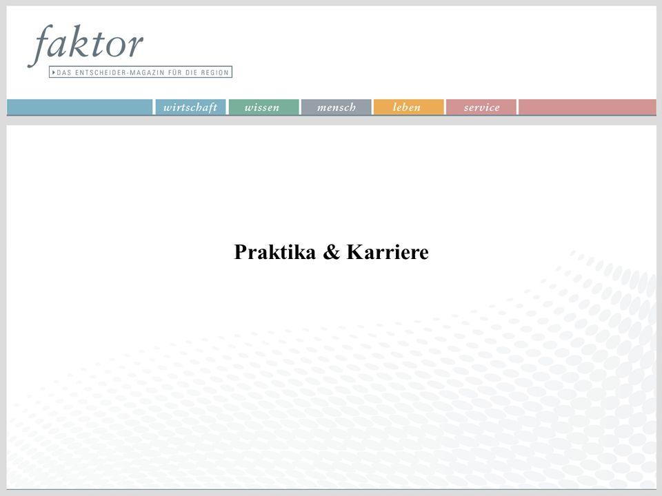 Praktika & Karriere