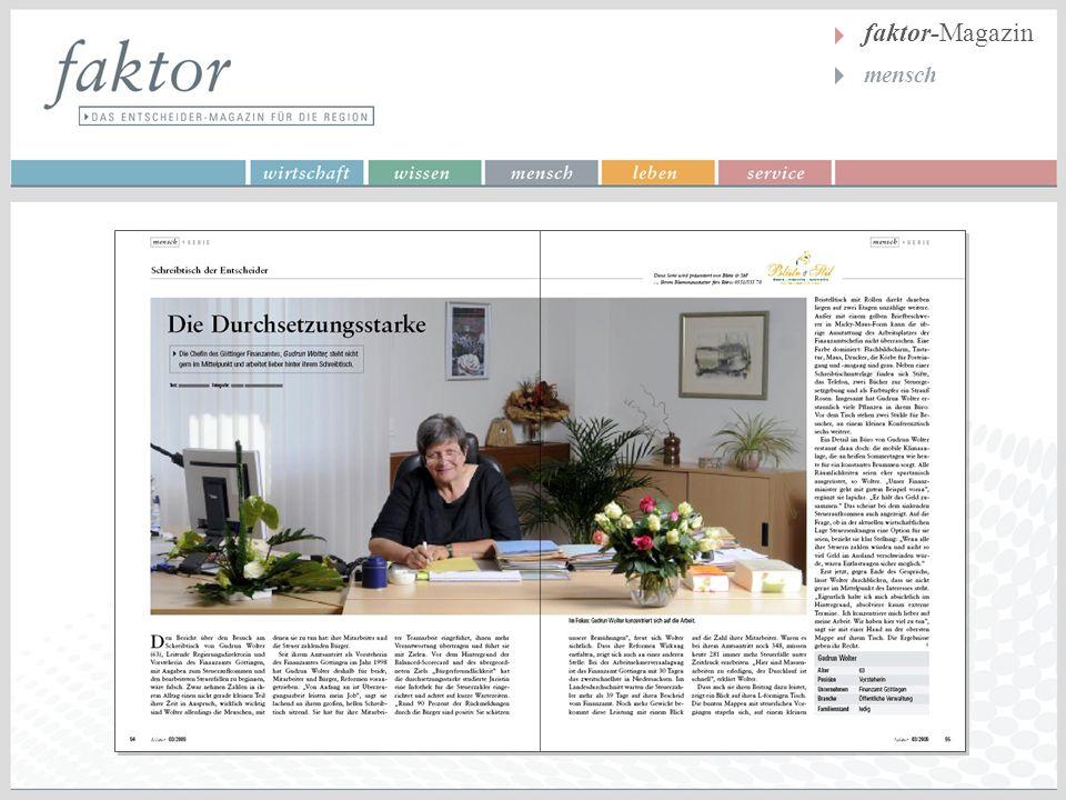 faktor-Magazin mensch