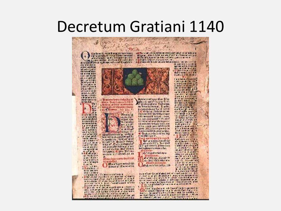 Decretum Gratiani 1140