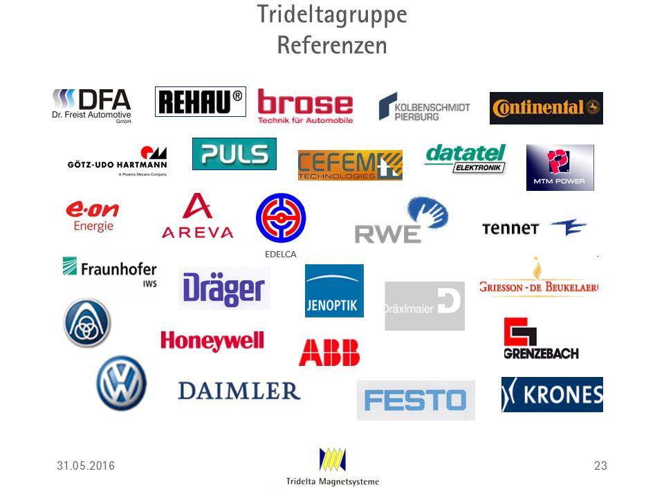 Trideltagruppe Referenzen 31.05.201623